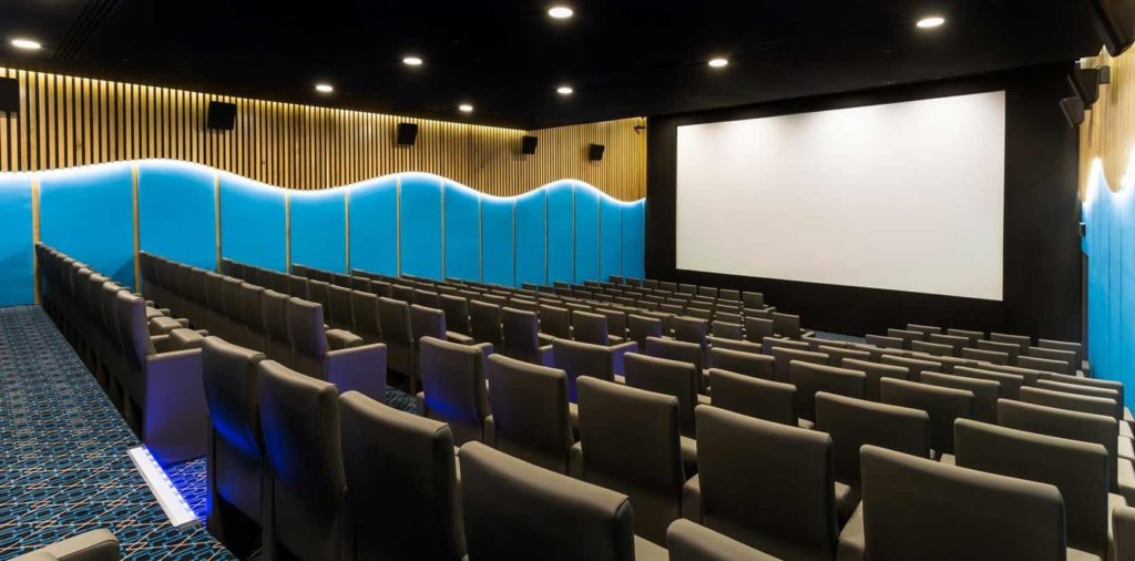 luxury cinema london